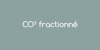 Laser CO2 fractionné